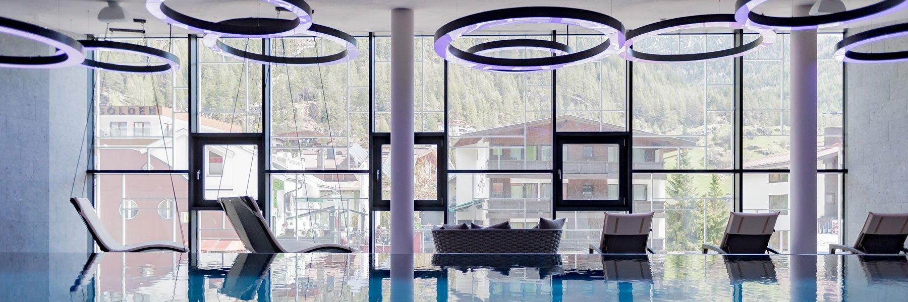 Wellnessbereich im TYROL Hotel