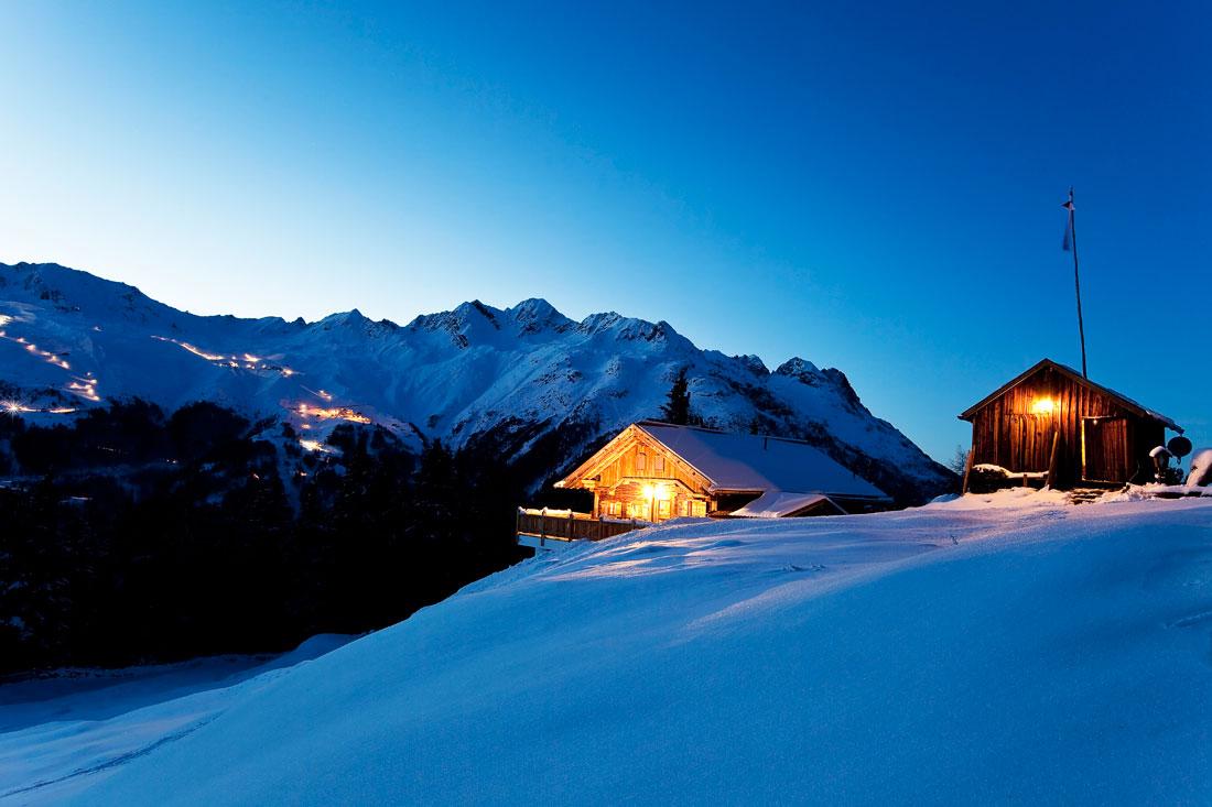 Winterwanderung zu Stallwiesalm