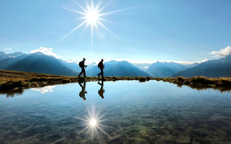 Wandern, Klettern, Bergsteigen
