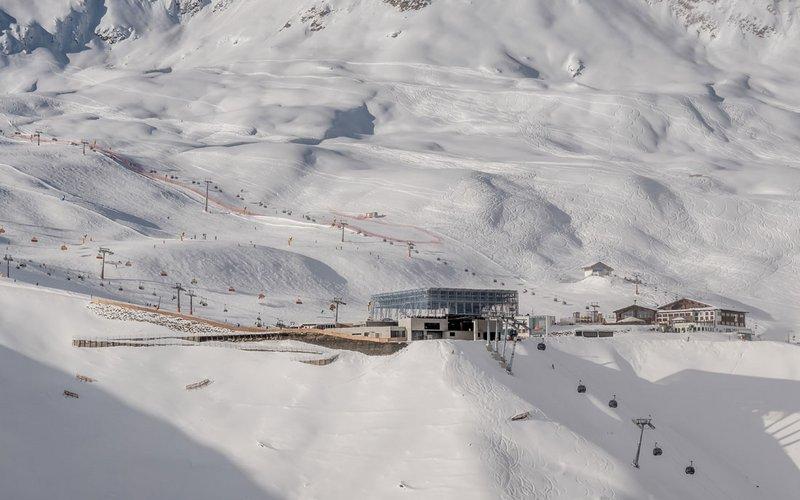 Skigebietsplan